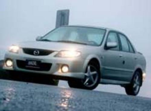 Mazda Familia Proteacutegeacute Parts And Electrical System Diagram