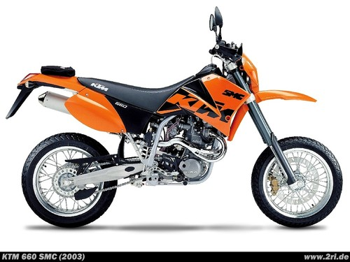 Pay for KTM 660 SMC Owners Manual 2003
