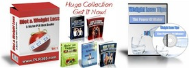Thumbnail 5 No Restriction Diet & Weight Loss PLR eBooks + FREE Bonus!