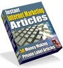 Thumbnail 50 Internet Marketing PLR Articles + Bonus + Website!
