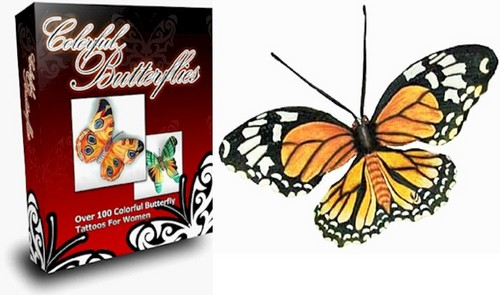 Pay for Beautiful Butterfly Tattoo Designs