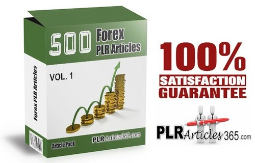 Pay for 500 Forex PLR Articles - Forex Article Pack