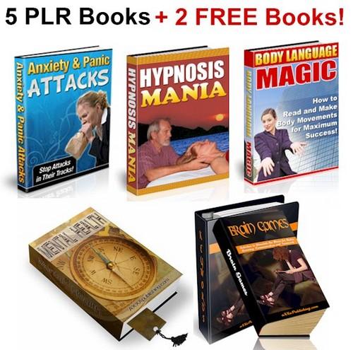 Pay for 7 No Restriction PLR eBooks, Addiction, Mental Health PLR