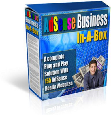 Pay for Google AdSense Business In-A-Box