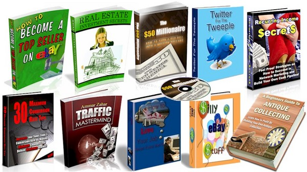 Pay for 70 High Quality PLR eBooks - Mega Package!