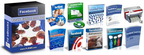 Pay for Facebook Marketing Package eBooks & Audios PLR