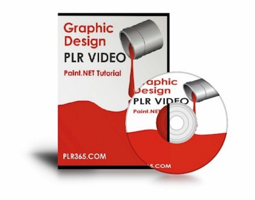 Pay for PLR Video Graphic Design Tutorial + AVI Source File