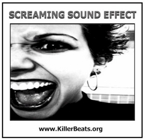 Pay for Woman & Man Screaming Sound Effect Wav 08