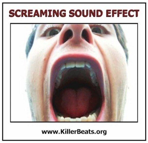 Man screaming sound effects free