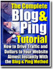 Thumbnail BLOG AND PING EBook MRR