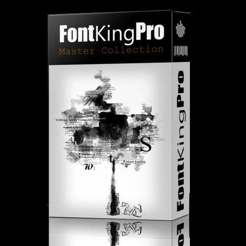 Pay for Fontking Pro 7000 Premium Fonts