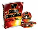 Thumbnail Wordpress Setup Checklist