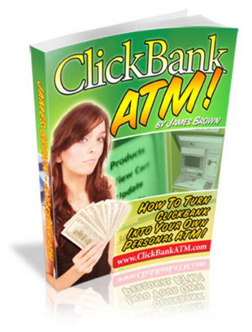 Pay for Clickbank ATM, How to Make Money Online