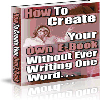 Thumbnail Create Your Own Ebook with ** Resell Rights**