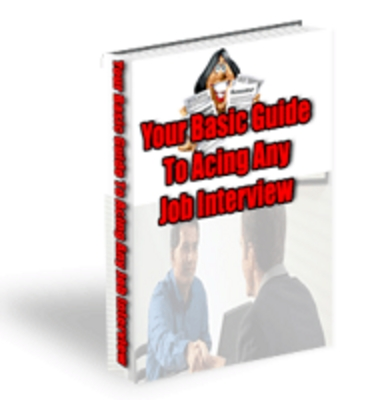 Pay for Your Basic Guide To Acting at ANY JOB INTERVIEW