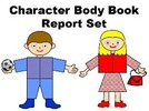 Thumbnail Character Body Book Report