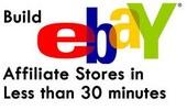 Thumbnail Build eBay Affiliate Stores