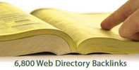 Thumbnail 6,800 Web Directory Backlinks (PR2 - PR8)