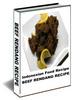 Thumbnail Food Recipe How to make a Delicious Beef Rendang Padang