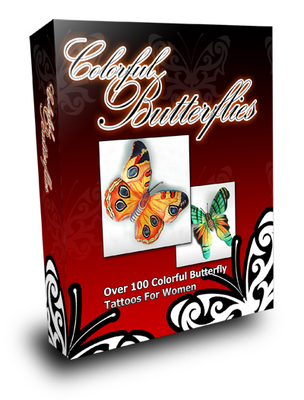 Pay for Over 100 Rare And Beautiful Colored Butterfly Tattoos