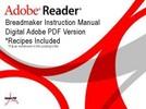 Thumbnail Panasonic Bread Bakery Parts model SD 200 instruction manual   recipes UK Version SD200.pdf