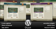 Thumbnail Wordpress Church