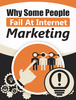 Thumbnail Why Some People Fail At Internet Marketing w/ resell rights
