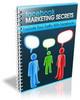 Thumbnail Facebook Marketing Secrets With PLR