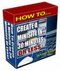 Thumbnail How to Create a Minisite in 30 Minutes or Less (RR)