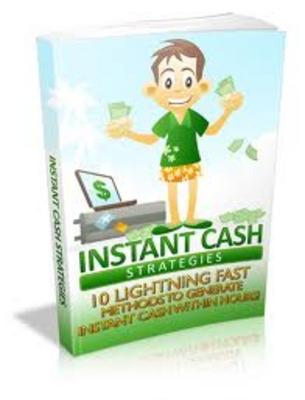 Free Instant Cash Strategies eBook (PLR) Download thumbnail