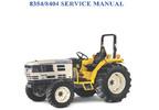 Thumbnail Cub Cadet 8354 8404 Compact Tractor Service Repair Manual