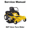 Thumbnail Cub Cadet RZT Zero Turn Rider Service Repair Manual