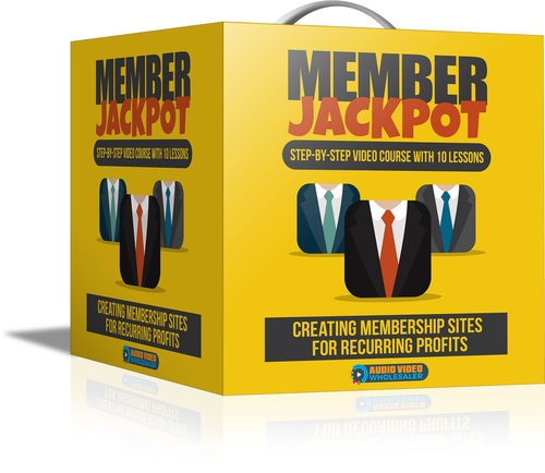 Pay for How to set up a Membership Site + Resell Rights