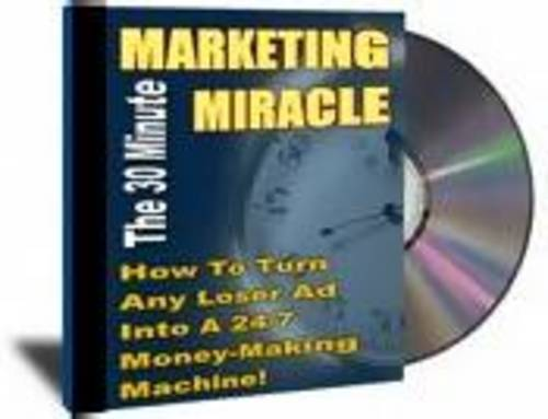 Pay for 30 Minutes Of Marketing Miracle