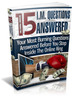 Thumbnail 15 Internet marketing questions anwered with MRR