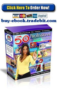 Pay for 50 Professional Biz Header Templates