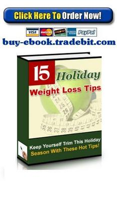 Pay for Holiday Weight Loss Tips
