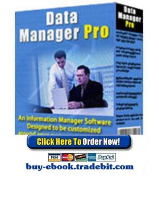 Pay for Data Manager Pro