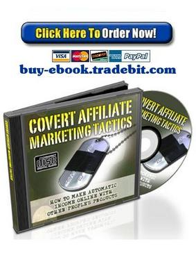 Pay for Covert Affiliate Marketing Tactics