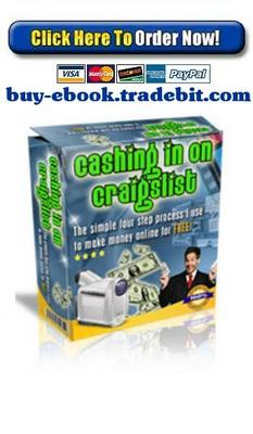 Pay for Cashing in on Craigslist