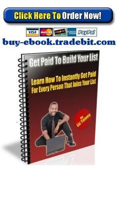 Pay for Get Paid To Build Your List