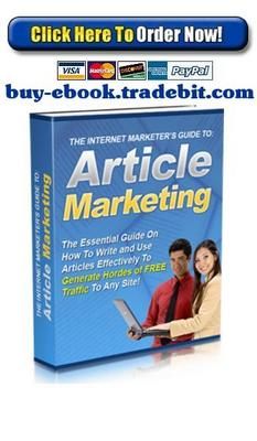 Pay for The Internet Marketers Guide to Article Marketing