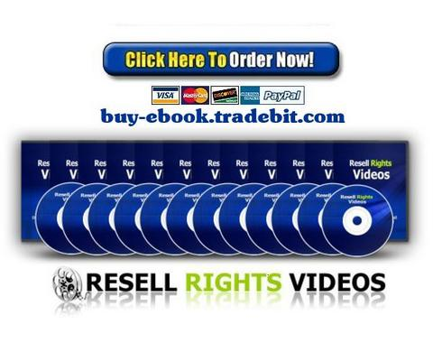 Pay for Resell Rights Videos