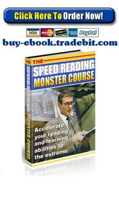 Pay for The Speed Reading Monster Course