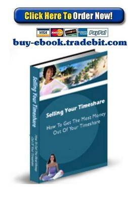 Pay for Selling Your Timeshares