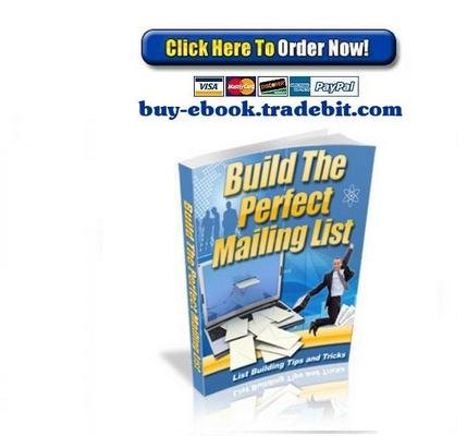 Pay for Build The Perfect Mailing List