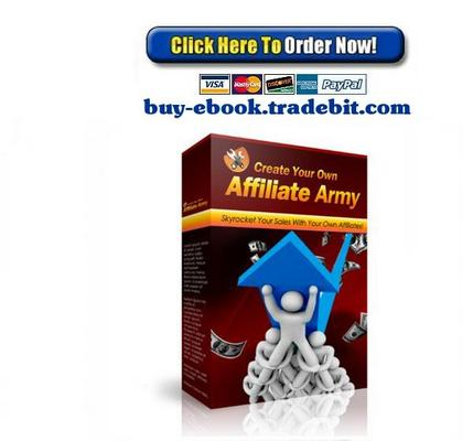 Pay for Create Your Own Affiliate Army