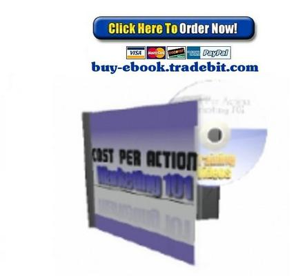 Pay for Cost Per Action Marketing