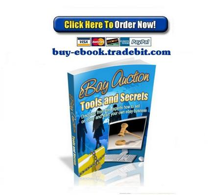 Pay for Ebay Auction Tools And Secrets