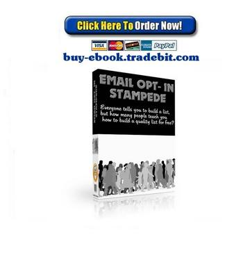 Pay for Email Opt In Stampede